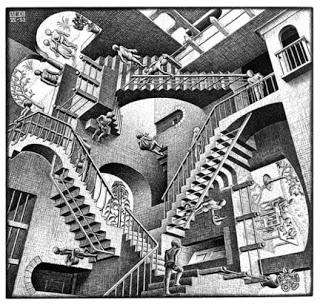 Эшер лестница